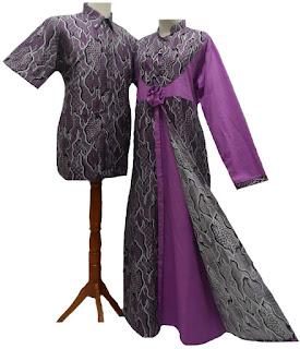 Foto Baju Batik Couple Big Size