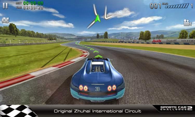 Sports Car Challenge لعبة مغامرات سباق السيارات للاندرويد