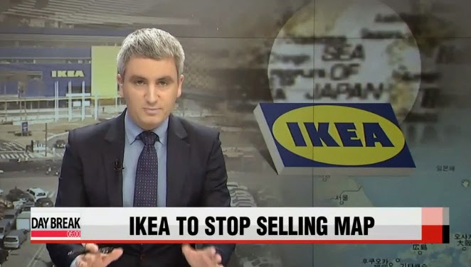 Fullkorea ikea to stop selling controversial sea of the map caused quite a stir here in korea as it refers to the sea as sea of japan and doesnt include the korean name east sea gumiabroncs Images