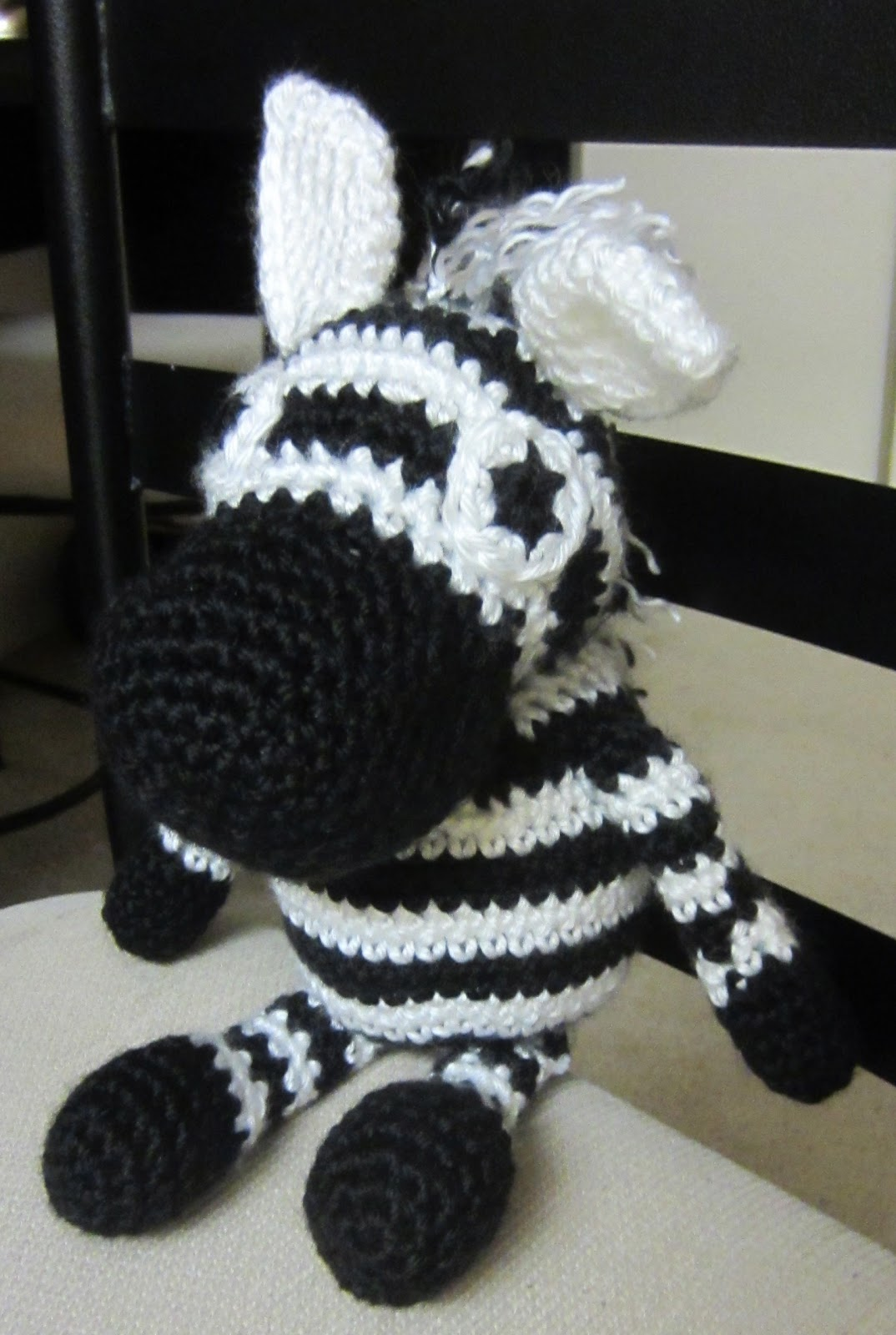 Free Crochet Zebra Patterns : Olenas Crafts: Amigurumi Zebra Toy - Free Crochet Pattern