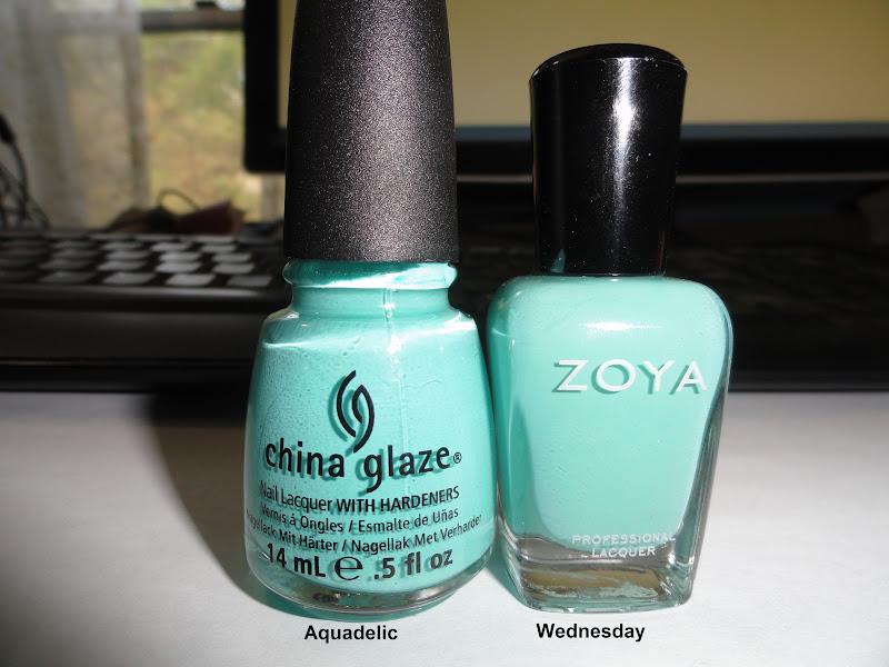 Zoya Bevin Vs Wednesday Aquadelic and Wednesday look