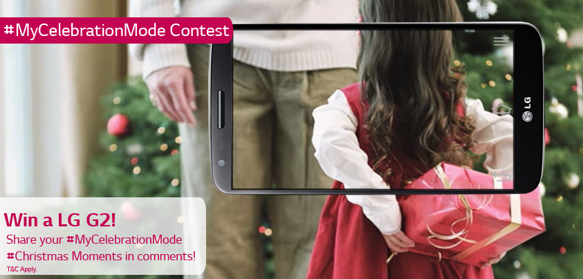 Contest !! Christmas Celebrations Win LG G2 !! LG INDIA ...