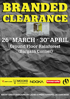 Branded Clearance Sale 2013