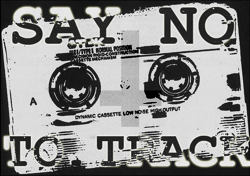 say no to track