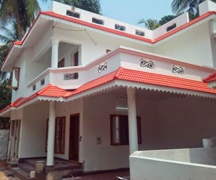 kerala style Low Budget House Plan
