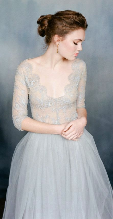 Powder Blue Wedding Dresses