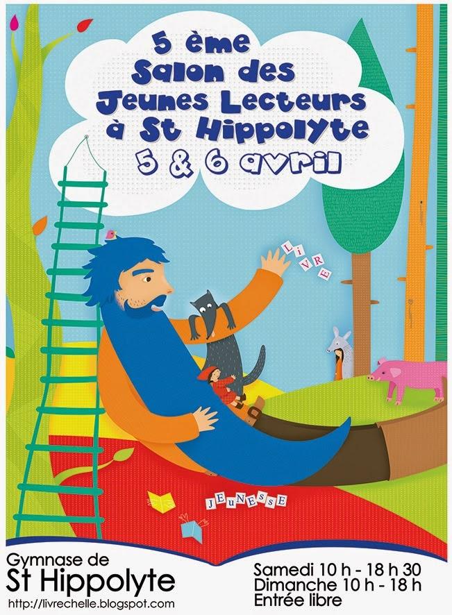 Salon des jeunes lecteurs de Saint-Hippolyte : + d'infos