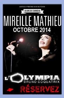 Mireille Mathieu-Olympia 2014