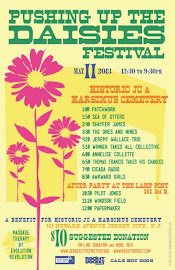 SUN MAY 19 Pushing Up the Daisies | A Fundraiser for and at The Historic JC and Harsimus Cemetery