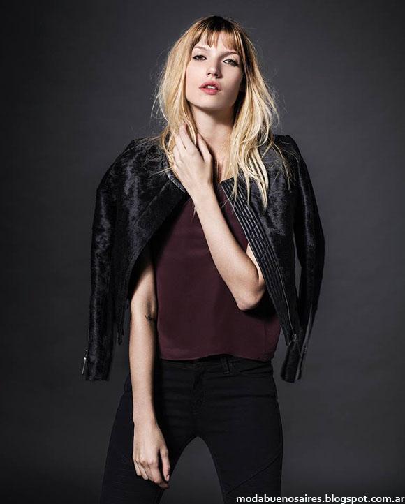 Sacos de moda invierno 2014 mujer Etiqueta Negra.