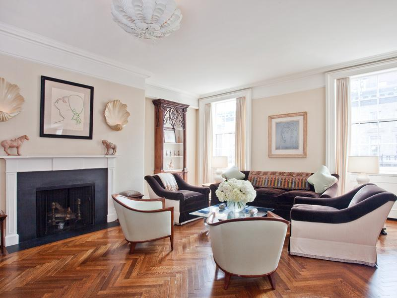 See this house swimming in a 30 million park avenue pad for Wood floors in the new apartment