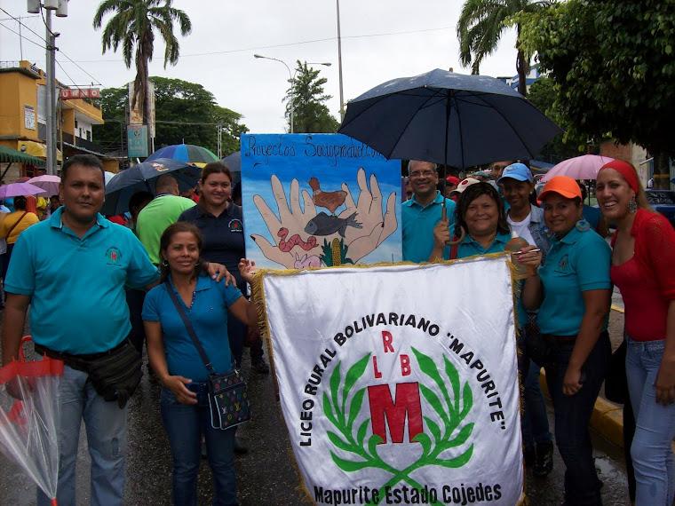 Desfile de Proyectos Socio Productivos