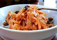 Salada de Cenoura com Passas (vegana)
