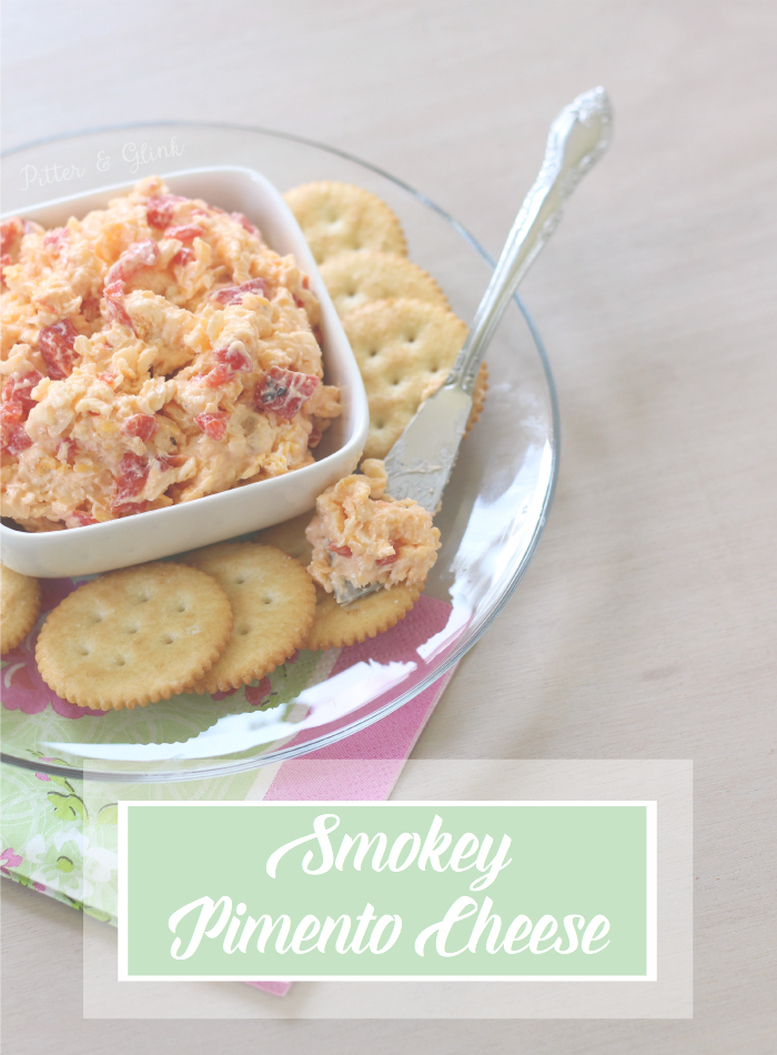 Smokey Pimento Cheese Recipe--The BEST pimento cheese because of its smokey flavor! www.pitterandglink.com