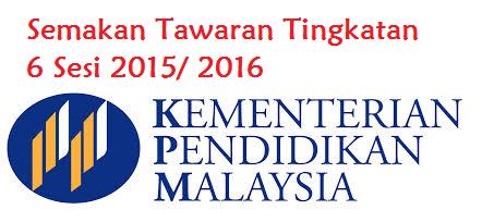 Soalan Lazim FAQ Kemasukan Ke Tingkatan Enam 2015
