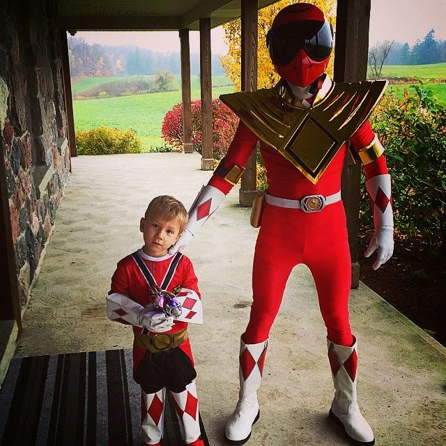 Justin Bieber es un Power Rangers