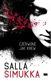 """""""Czerwone jak krew"""" Salla Simukka - recenzja"""
