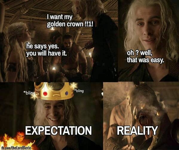 viserys targarean game of thrones memes
