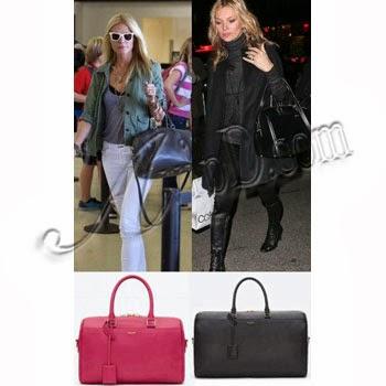 http://Platinum.AvipD.com: Saint Laurent Paris Classic Duffle Bag