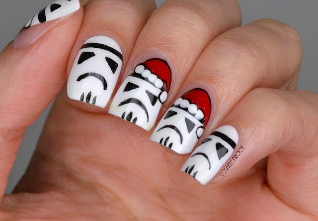 NAILS | Star Wars Stormtroopers Love Christmas Too!