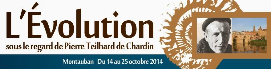 L'Évolution sous le regard de Pierre Teilhard de Chardin - Montauban - 14 au 25 octobre 2014