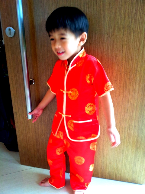 chinese new year outfit for boys