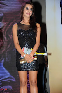 Sanjana Latest Pictures in Short Dress at Something Something Audio Launch  0008.jpg