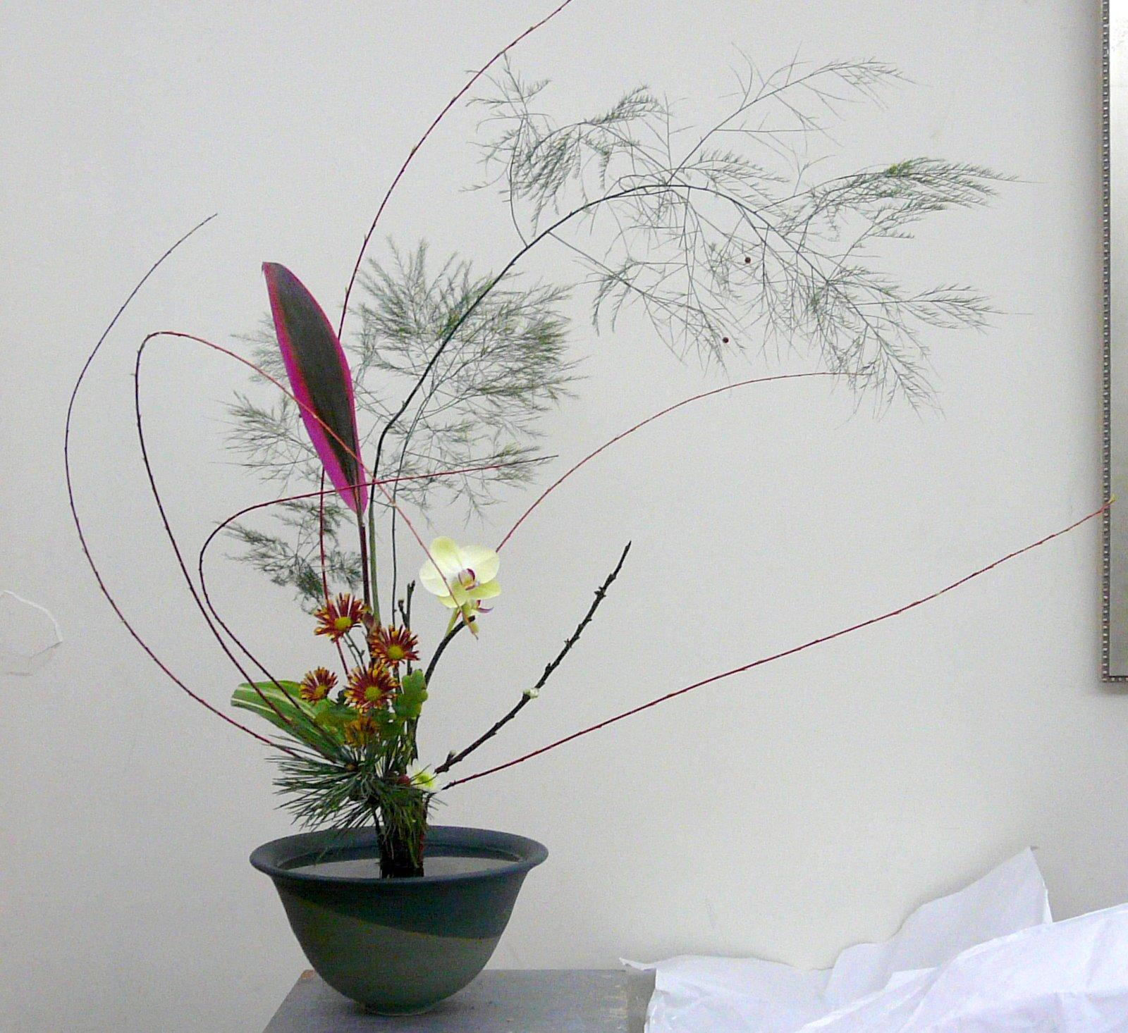 方素芬老師池坊花藝作品