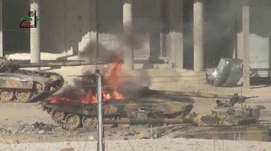 30 Kendaraan Militer Tentara Assad Hancur