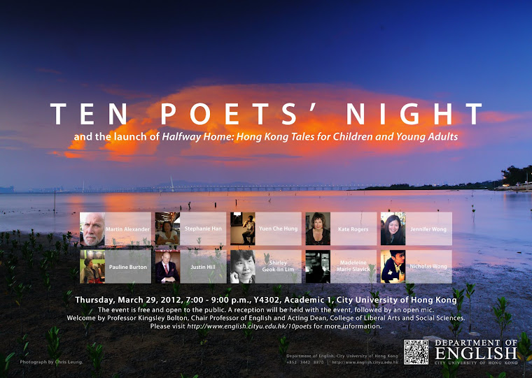 Ten Poets' Reading (including me)