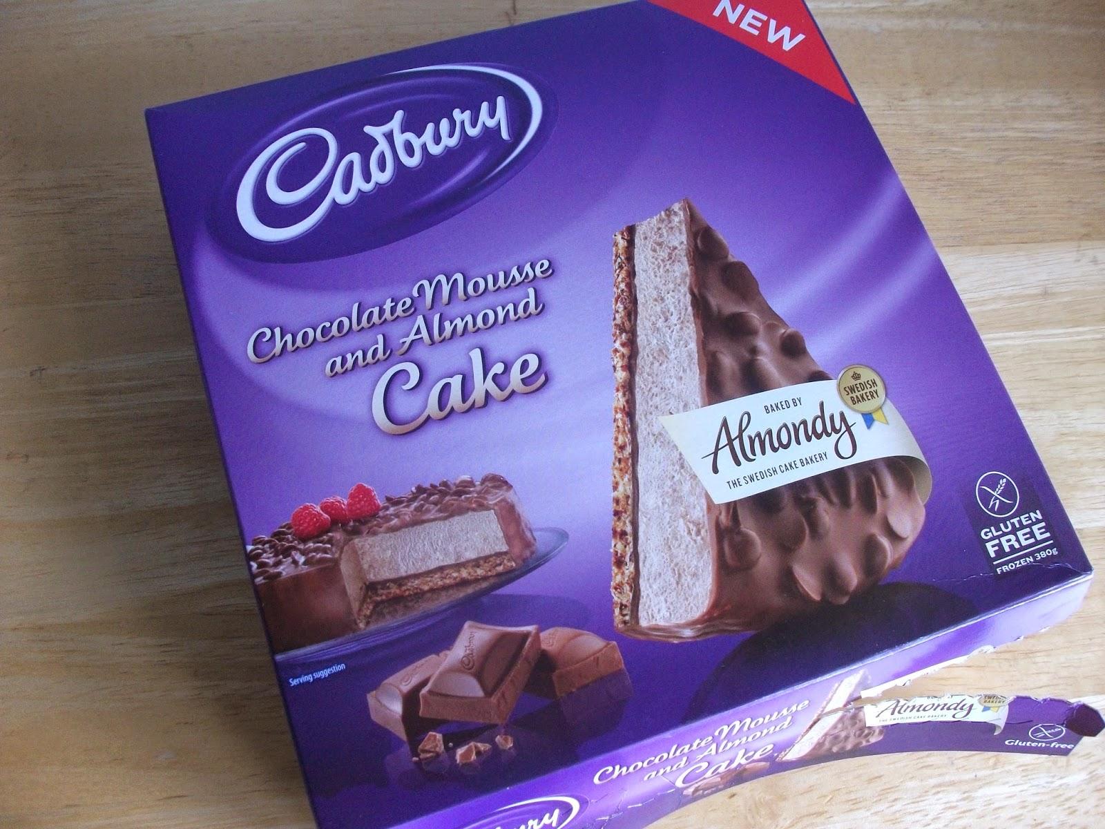 Cadbury Almondy Chocolate Mousse & Almond Cake (Gluten Free) Almondy