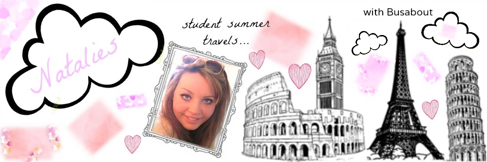 student summer travels