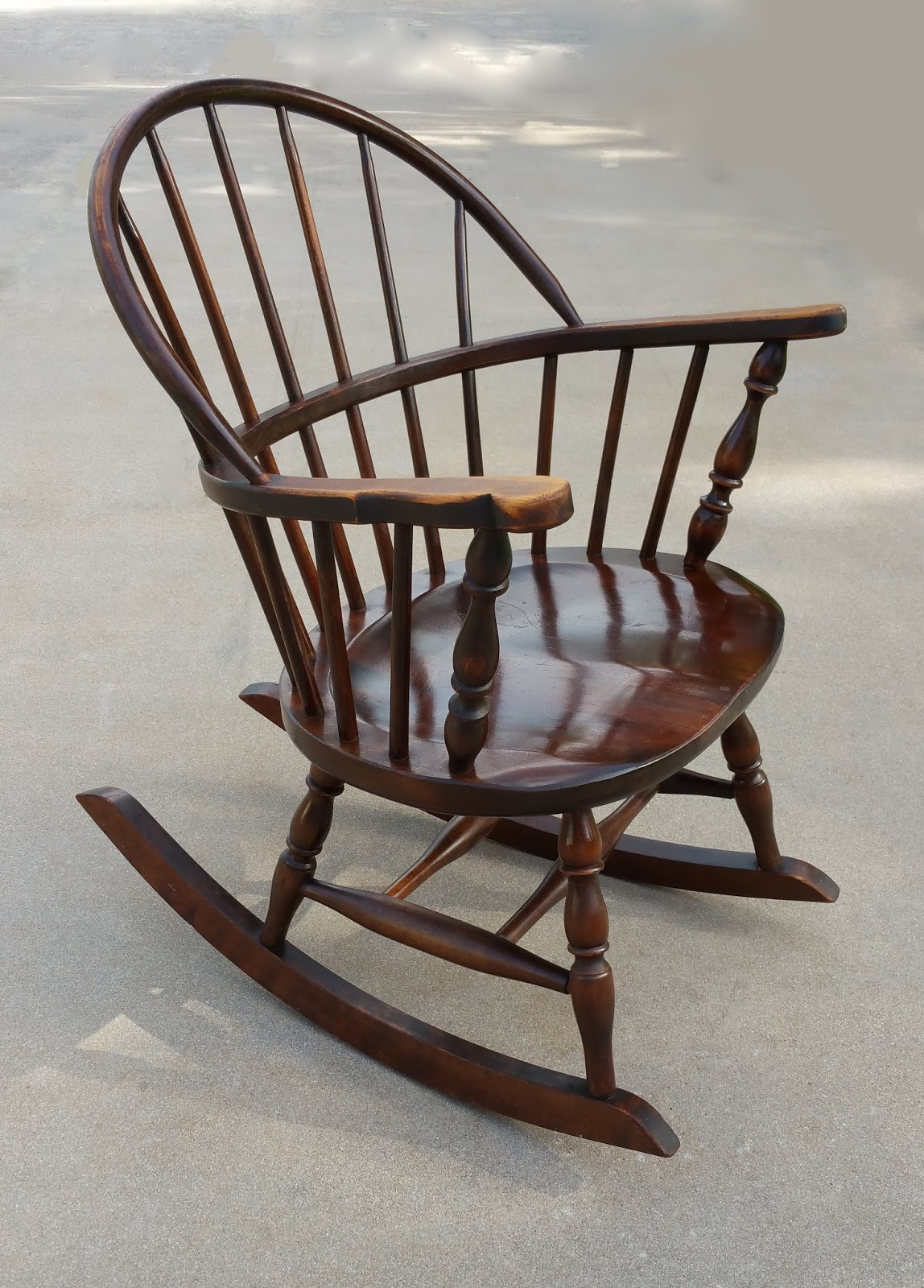 Antique Windsor Rocking Chair - Antique Windsor Rocking Chair Antique Furniture