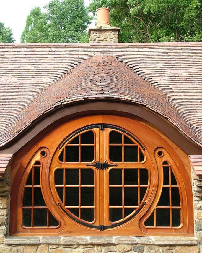 Delorme designs eyebrow windows for Window design round