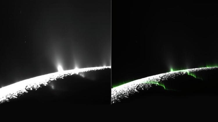Hay vida en Encélado, luna de Saturno.
