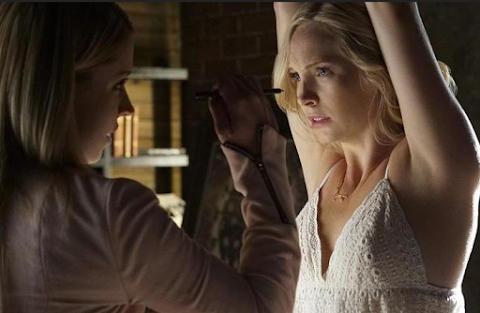 The Vampire Diaries (temporada 7)  'Never Let Me Go' te sacará de tu silla...