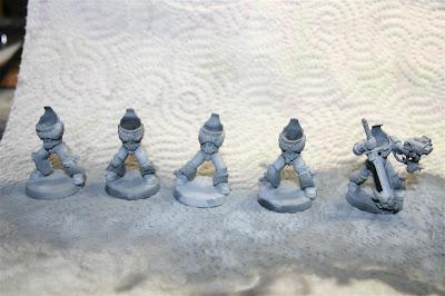 Escuadra de expiación de los caballeros grises con colores definitivos