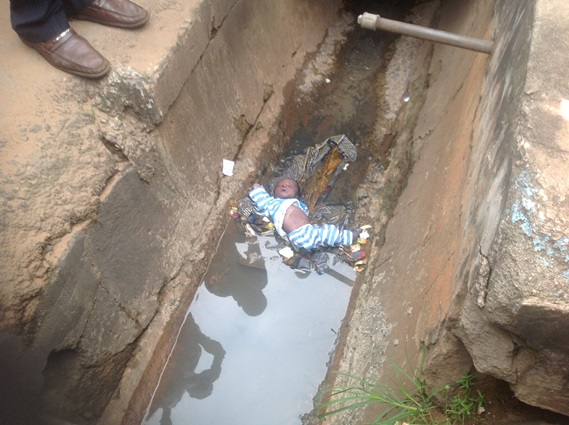 Another Cruelty: Baby Found Dead in Drainage in Onitsha Anambra state (picture) chiomaandy.com