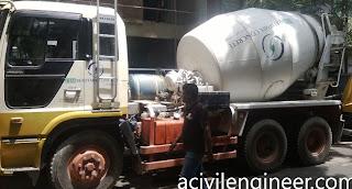 concrete construction process