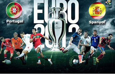 Video Portugal vs Spanyol Euro 2012