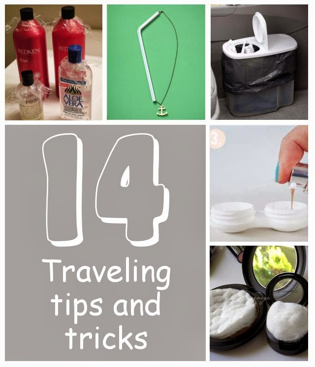 14 Helpful Traveling Tips & Tricks