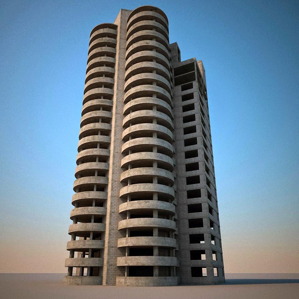 bâtiment_par_3D_Max