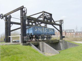 Stephensons Lifting Bridge at Soar Lane, Leicester, now at Snibston Discovery Museum, Coalville