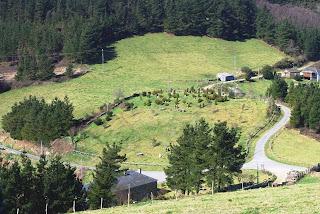 Taramundi, vista de la zona del alberge de Teixo