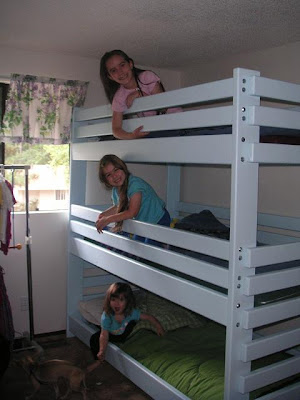 Triple Bunk Bed