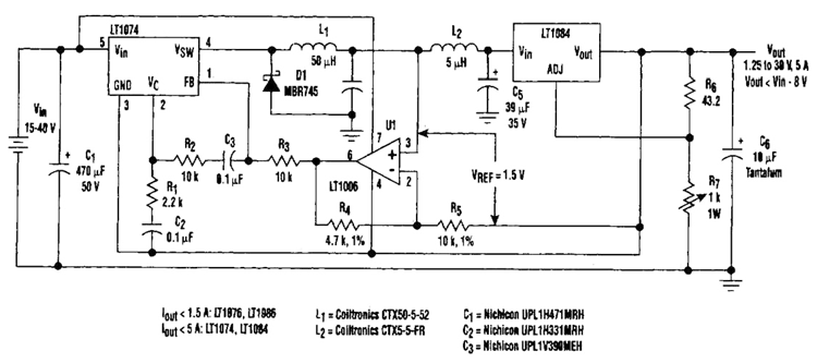 Regulator Loss Cutter Circuit Diagram