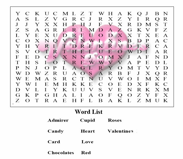 valentines word searches hard 5 valentines word searches hard 6