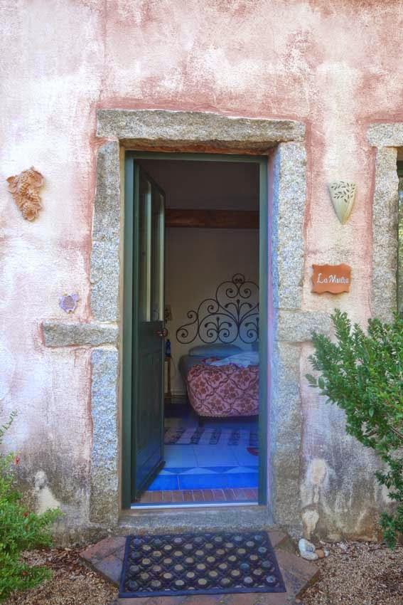 chambre de la ferme auberge La Mesenda
