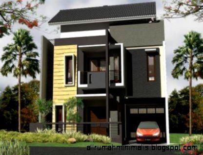 Model Dan Gambar Rumah Modern Minimalis Lantai 1 Terbaru  Desain