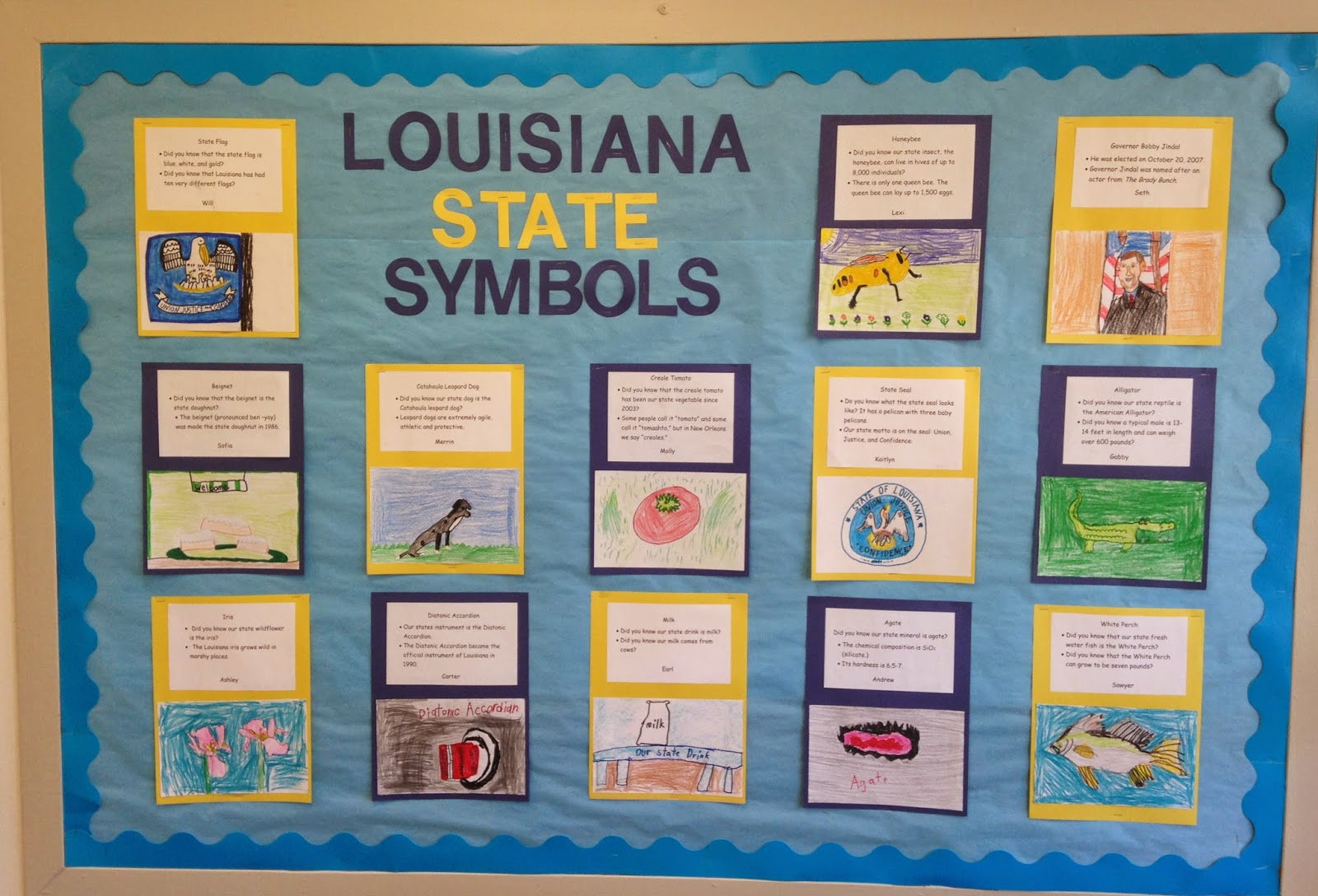 Let The Good Times Roll In Second Grade Louisiana State Symbols